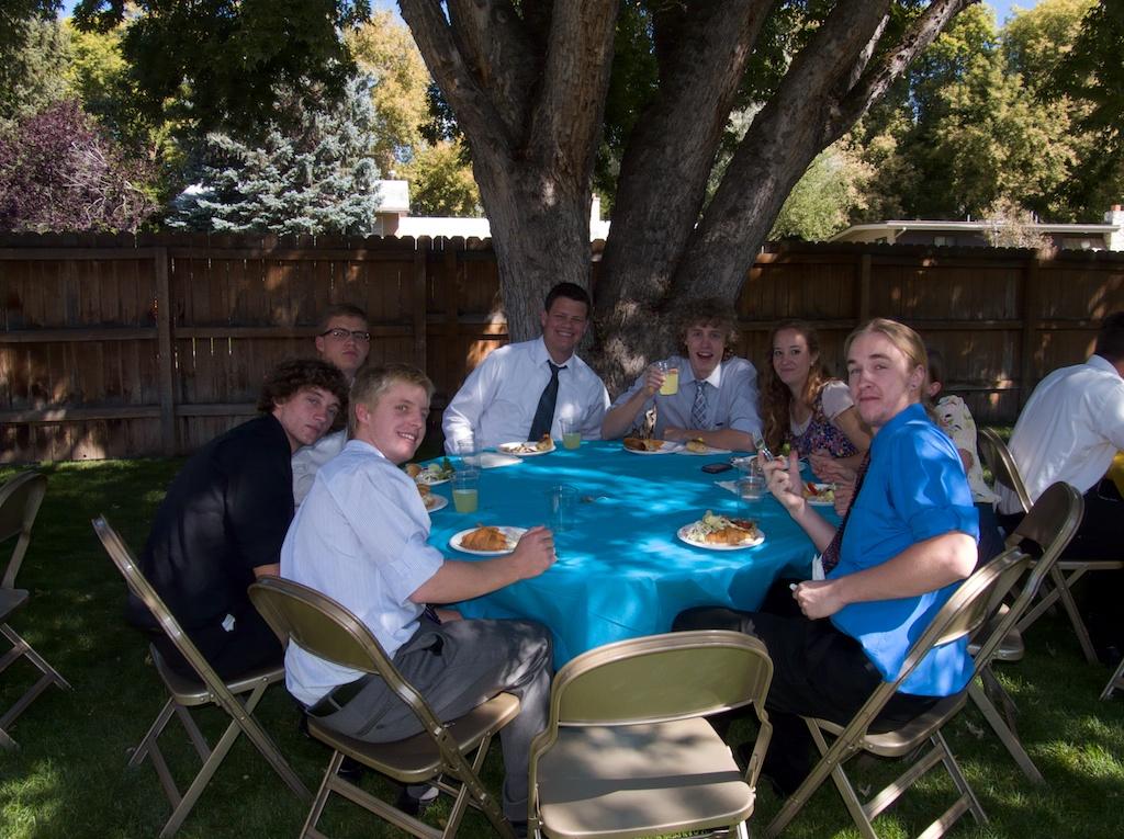 Kyle's friends
