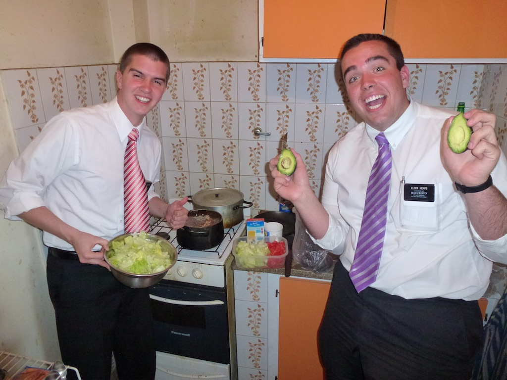 Elder Wagstaff and Elder Heaps
