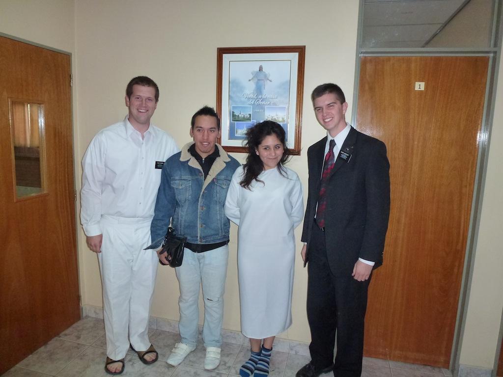 Baptism of Yanet