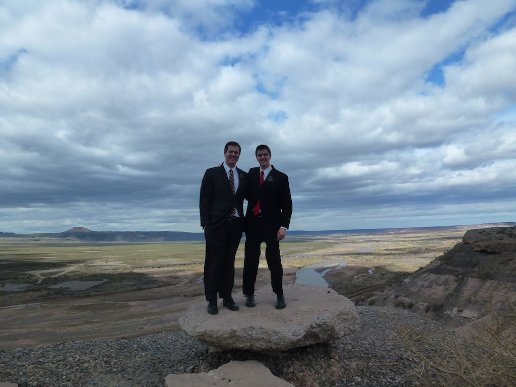 Elder Hudgins and Elder Wagstaff